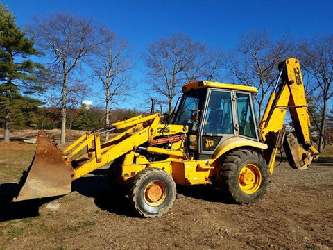 1998 JCB 215 SERIES 3 SITE MASTER BACKHOE WORKSHOP SERVICE MANUAL
