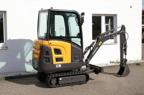 Volvo Ec18c Compact Excavator Workshop Service Repair Manual Pdf Download