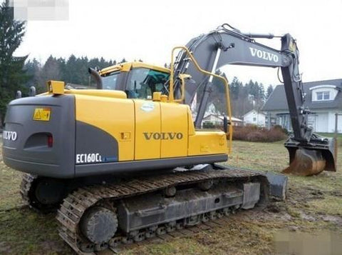 Volvo Ec160c L Excavator Full Service Repair Manual Pdf Download