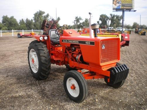 Allis Chalmers Model 160 Tractor Service Repair Workshop Manual