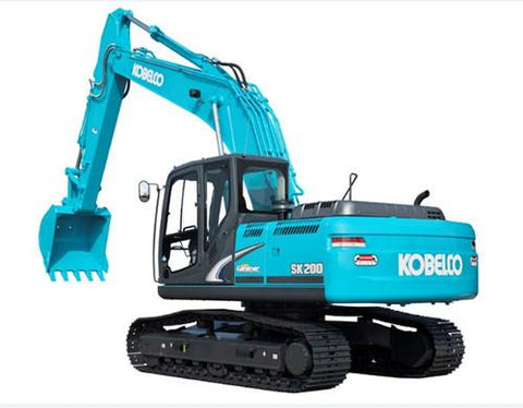 Kobelco SK200-8 SK210LC-8 Hydraulic Excavator Service Repair Workshop Manual DOWNLOAD
