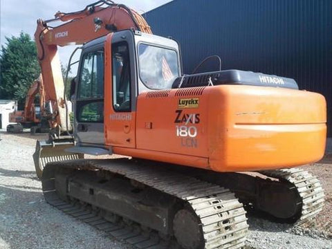 Hitachi Zaxis ZX 160LC-3 180LC-3 180LCN-3 Excavator Service Repair Manual INSTANT DOWNLOAD