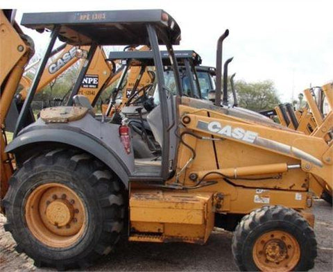 CASE 580M 580M TURBO 580 SUPER M 590 SUPER M BACKHOE LOADER SERVICE REPAIR MANUAL 6-41490