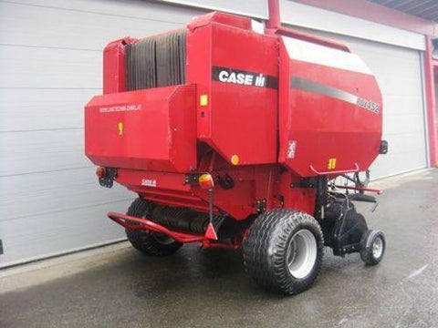 CASE IH RBX562 ROUND BALER OWNERS MANUAL