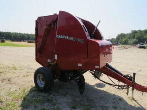 CASE IH RB455A ROUND BALER OPERATORS MANUAL