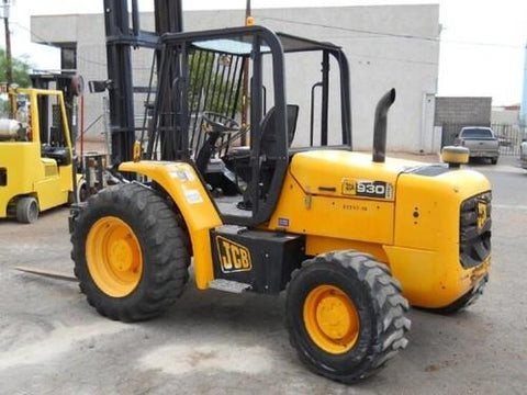 jcb 930 4 t4 ecomax forklift parts catalogue manual sn 02363578 rh reliable store com JCB 930 4WD JCB 930 Fork Lift ANSI Inspections
