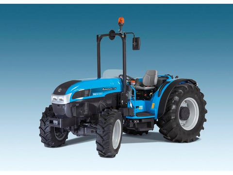 Landini REX 80GE User's Manual Download