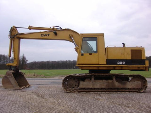 1987 caterpillar 229 excavator WORKSHOP SERVICE REPAIR MANUAL