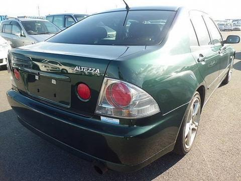 1998 TOYOTA ALTEZZA GXE 10 PARTS LIST MANUAL