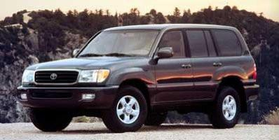 2001 Toyota Land Cruiser Workshop Service Repair Manual