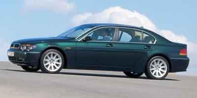 BMW series 7 E65 745LI 2004 workshop service repair manual