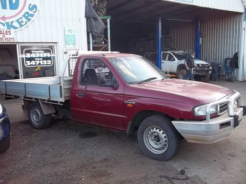 1999 Mazda Bravo UTE Workshop Service Repair Manual