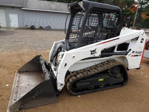 Bobcat T450 Skid Steer Serial number AUVP11258 Owner's Operator's Manual