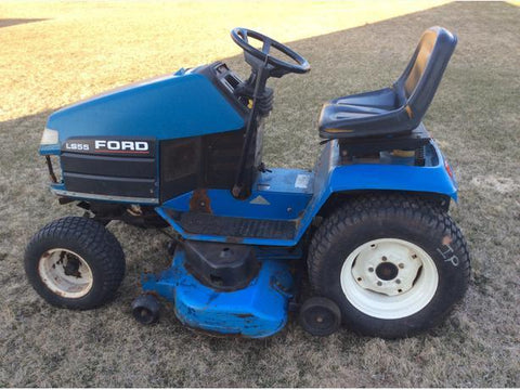 Ford  New Holland LS55 Riding Mower Workshop Service Repair Manual