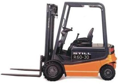 Still  R60-30, R60 Electric Forklift Truck Maintenance Manual Download