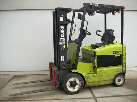 SERVICE REPAIR MANUAL OF CLARK FORKLIFT ECG25