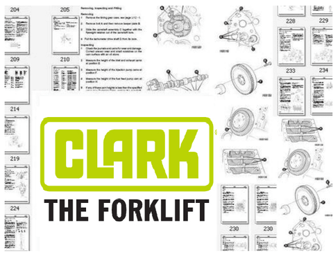 Clark 50BZ3 Michigan Wheel Loader Part's Manual