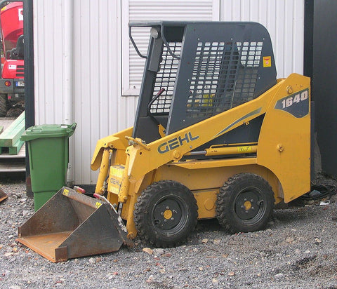 Gehl 7810 Skid Steer Loader Service Repair Workshop Manual