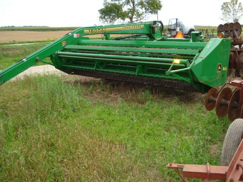 John Deere 1600A Mower-Conditioner Technical Service Manual