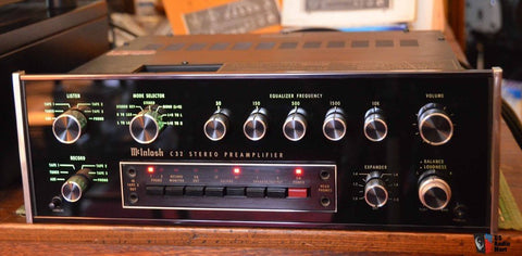 McIntosh C32 Stereo Preamp Workshop Service Manual