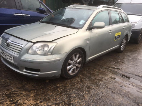 2005 Toyota Avensis Ex Service Repair Manual