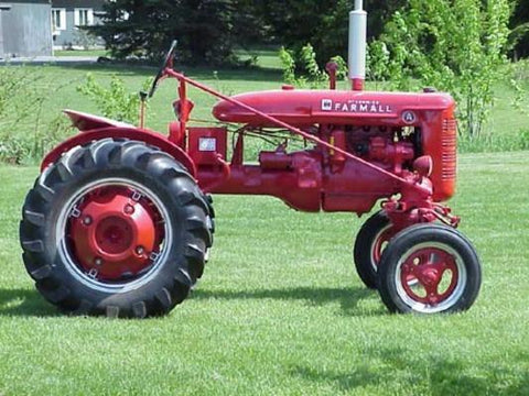 Farmall A AV B BN Tractor Workshop Repair Service Manual