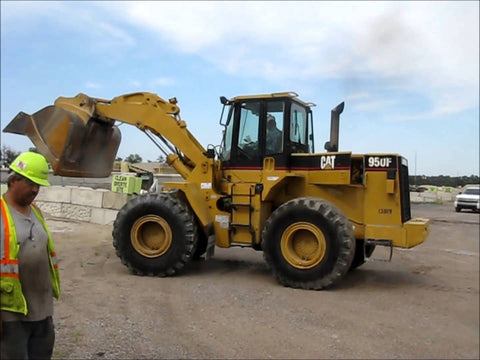 CAT 950F Wheel Loader serial number 08TK01096 Workshop Service Repair Manual