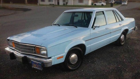 1980 Ford Fairmont Workshop Service Repair Manual