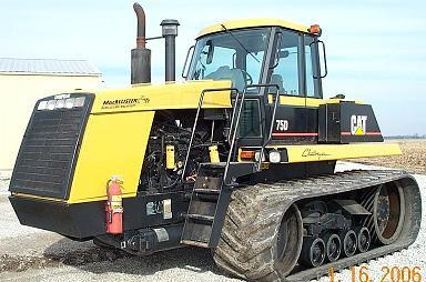 Agricultural Tractors Caterpillar Challenger 75D Service manual PDF