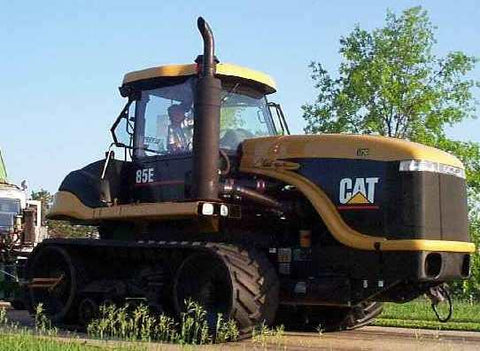 Agricultural Tractors Caterpillar Challenger 85E Operation and maintenance manual PDF