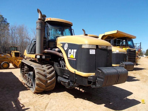 Agricultural Tractors Caterpillar Challenger 95E Service Manual