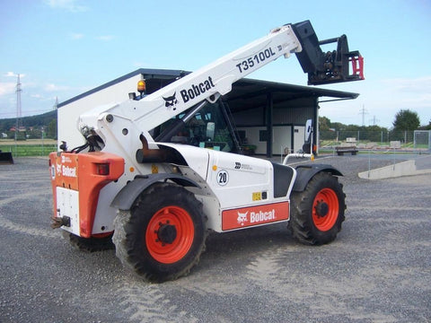 Bobcat T35100, T35120 Telehandler Service Repair Manual (S/N A8xx) WORKSHOP SERVICE REPAIR MANUAL
