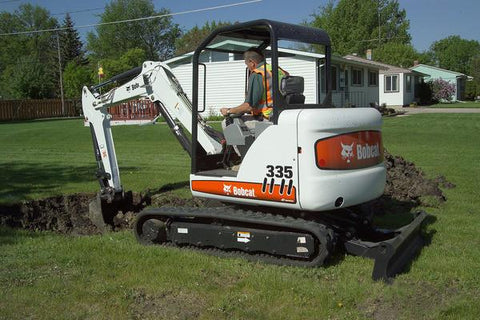 BOBCAT 335 COMPACT EXCAVATOR REPAIR SERVICE MANUAL 6986949