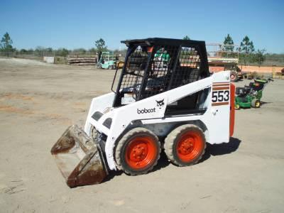 BOBCAT 553 SKID STEER LOADER REPAIR MANUAL