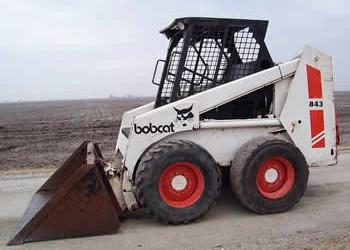 BOBCAT 843 843B SKID STEER LOADER WORKSHOP MANUAL
