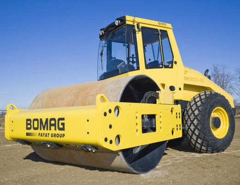 BOMAG Single Drum Roller BW 145 D-3 / BW 145 DH-3 / BW 145 PDH-3 OPERATION & MAINTENANCE MANUAL