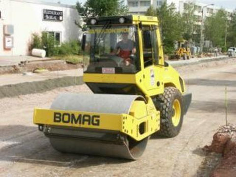 BOMAG Single Drum Roller BW 177 D-3 / BW 177 DH-3 / BW 177 PDH-3 / BW 178 DH-3 / BW 178 PDH-3 OPERATION & MAINTENANCE MANUAL