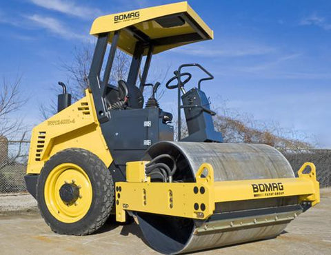 BOMAG Single Drum Rollers BW124DH-3 / BW124PDH-3 SERVICE TRAINING MANUAL DOWNLOAD