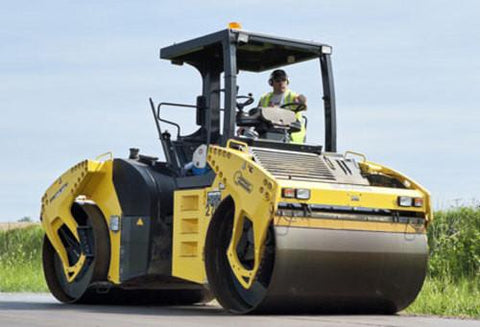 BOMAG Tandem Vibratory Roller, Asphalt Manager BW 190 AD-4 AM OPERATION & MAINTENANCE MANUAL