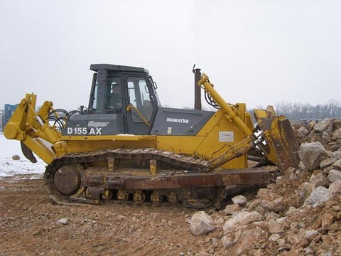 Best KOMATSU D155AX-3 SUPER DOZER SERVICE REPAIR MANUAL + OPERATION & MAINTENANCE MANUAL DOWNLOAD