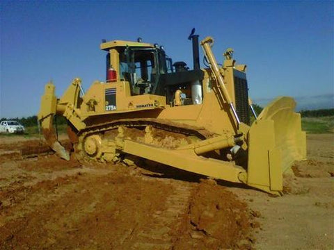 Best KOMATSU D275AX-5 BULLDOZER SERVICE REPAIR MANUAL + FIELD ASSEMBLY MANUAL + OPERATION & MAINTENANCE MANUAL DOWNLOAD