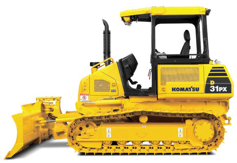 Best KOMATSU D31EX-22, D31PX-22, D37EX-22, D37PX-22 BULLDOZER SERVICE REPAIR MANUAL + OPERATION & MAINTENANCE MANUAL DOWNLOAD