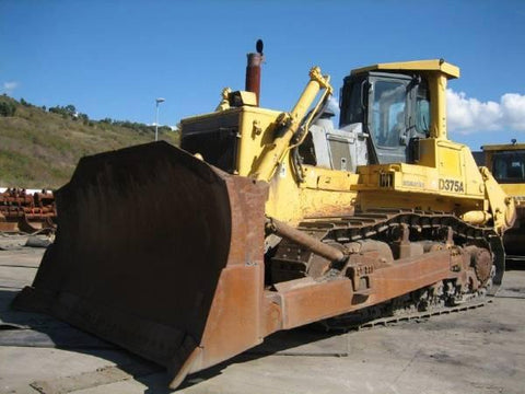 Best KOMATSU D375A-3 BULLDOZER SERVICE REPAIR MANUAL + OPERATION & MAINTENANCE MANUAL DOWNLOAD