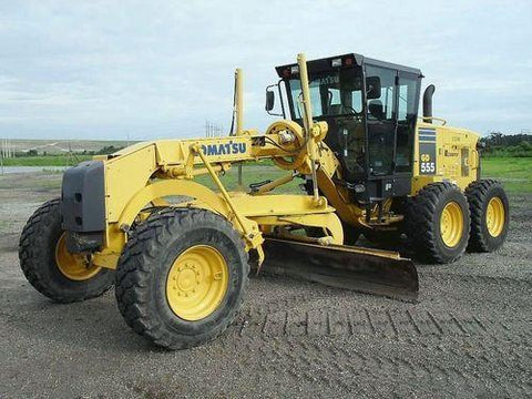 Best KOMATSU GD555-3C, GD655-3C, GD675-3C MOTOR GRADER SERVICE REPAIR MANUAL + OPERATION & MAINTENANCE MANUAL DOWNLOAD