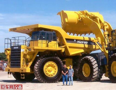Best KOMATSU HD1500-5 DUMP TRUCK SERVICE REPAIR MANUAL +  FIELD ASSEMBLY MANUAL + OPERATION & MAINTENANCE MANUAL DOWNLOAD