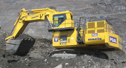 Best KOMATSU PC2000-8 HYDRAULIC EXCAVATOR SERVICE REPAIR MANUAL + FIELD ASSEMBLY INSTRUCTION + OPERATION & MAINTENANCE MANUAL DOWNLOAD