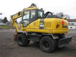 Best KOMATSU PW160-7H WHEELED EXCAVATOR SERVICE REPAIR MANUAL + OPERATION & MAINTENANCE MANUAL DOWNLOAD