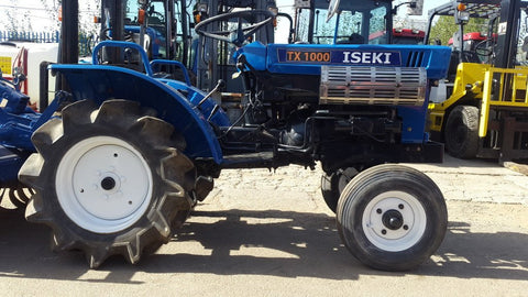 Iseki Tx1000 Tx1300 Tx1500 Tractor Tx Series Operation Maintenance Service Manual # 1 Download