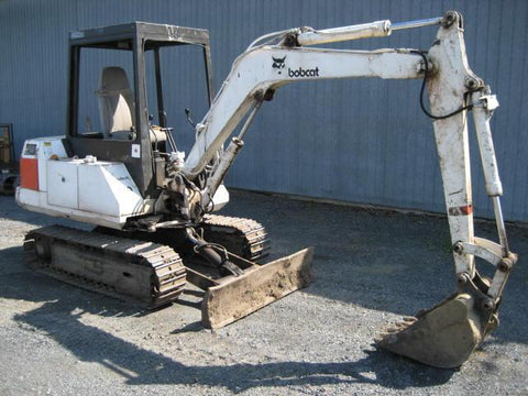 Bobcat 100 Excavator Service Repair Manual DOWNLOAD