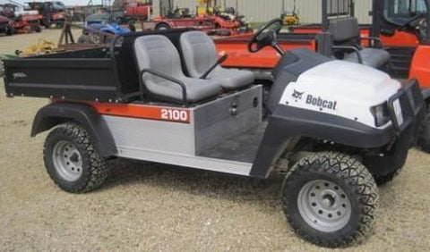 Bobcat 2100 2100S Workmate Utility Vehicle Service Repair Workshop Manual INSTANT DOWNLOAD ( S/N 522711001 & Above, S/N 524411001 & Above )